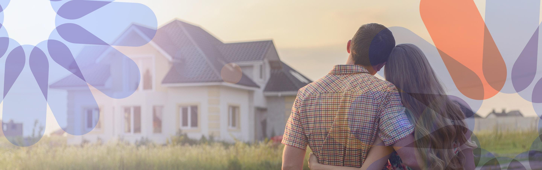 Familia joven y luz en nueva vivienda - CHC Energía