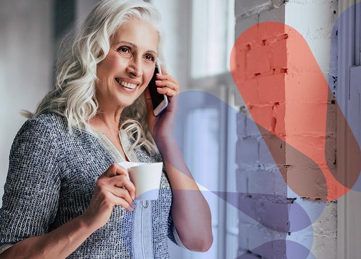 Seguro Tranquilidad Hogares - Mujer cafe - CHC Energía