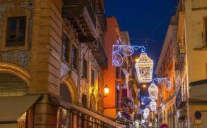 Luces de Navidad en Sevilla